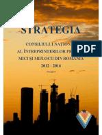 Strategie Cnipmmr 2012 2016