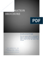 Billing software brochure