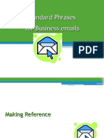 22068103 Standard Phrases for Business Emails