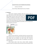 Bursitis Subacromial
