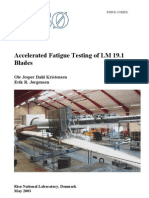 Accelerated Fatigue Testing of Blades