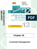 Constraint Management :