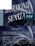 CURS 9 - Homeostazia Calciului, h. Sexuali