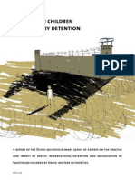 Palestinian Children and Israeli Military Detention