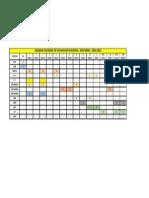 Calendario 2013