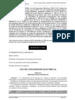 Dl25844 Ley de Concesiones Eléctricas