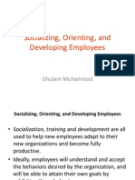 Socializing, Orienting, And Developing Employees.pptx Chp8
