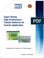 Tubular Battery Leaflet
