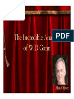 The Incredible Analysis of W D Gann