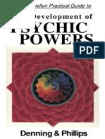 The Development of PSYCHIC POWERS