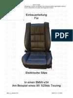 Installation - Electric Seats
