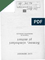 Luc Benoist, Semne , Simbol Si Mituri0001