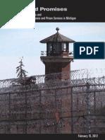 State Employee Coalition Private Prison Report