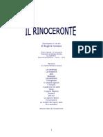 Ionesco - Il Rinoceronte