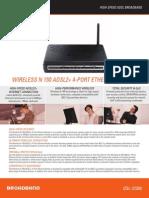 DSL-2730U D1 Datasheet 01(W)