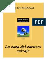 Murakami Haruki La Caza Del Carnero Salvaje PDF
