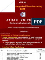 Group Technology and Cellular Manufacturing-II