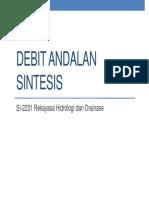 Debit Andalan Sintesis