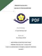 CASE REPORT PERDARAHAN SUBARAKNOID