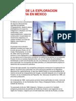 Historia de La Exploracion Petrolera en Mexico