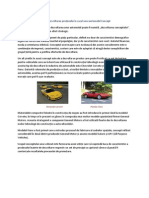 Dezvoltarea Produsului În Cazul Unui Automobil Concept