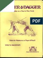 Rapier & Dagger