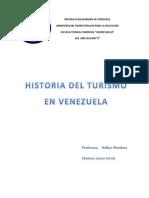 Historia Del Turismo en Venezuela