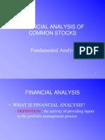 Security Market Analysis - Fundamental Analysis (2)