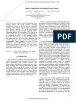 Transfer Capability Computations in Deregulated Power Systems