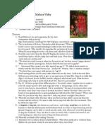 The Prairie Thief Notes