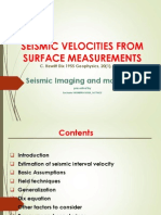 Dix_55_Seismic Velocities From Surface Measurements