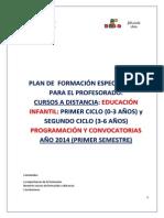 2014 Plan de Formacion 1º Semestre 2014 Cursos a Distancia (1)