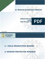 Nuevos Proy de Inversion SNMPE