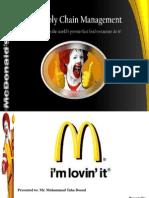 Mcdonald's Scm (Ppt)