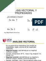 Clase 2 Fisica 1 Análisis Vectorial