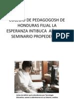 diapositivas de la historia de la tecnologia educativa