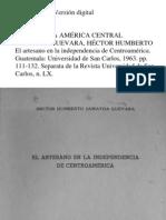 El Artesano en La Independencia de Guatemala