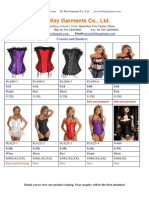 Corsets and Bustiers Dec.