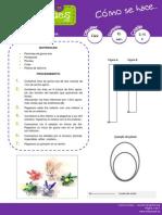 Instrucciones Flores Goev