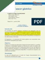 Cancer Gastrico Soc. Col. Cirugia