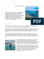 COM 382 Digital Publishing in New Zealand