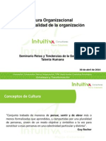 7. Cultura Organizacional, La Personalidad de La Organización