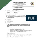 GUÍA 02 Algoritmica y Programacion
