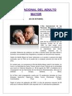 Día Nacional Del Adulto Mayor