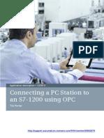 Conexion Opc Server S7-1200 OPC SIMATIC-NET TIA-Portal e