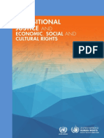 Transitional Justice and DESC UN2014