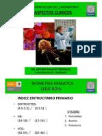 Hemato. Anemia. 2009