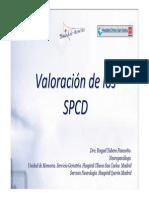 Valoración de Los SPCD
