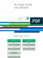 Free Cash Flow Valuation