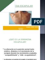 diskinesia escapula